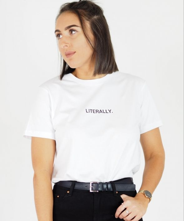 Personalised Word Embroidered T shirt