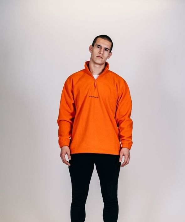 OUTSIDEIN ORANGE FLEECE