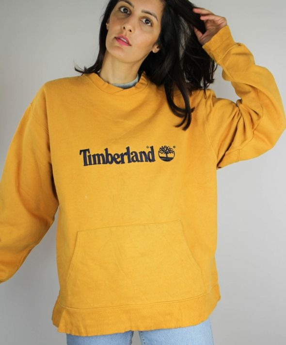 Vintage Timberland Classic Sweatshirt with Logo Front 4149851