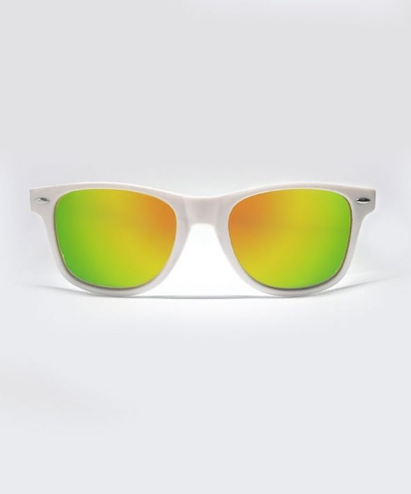 KRAVITZ Wayfarer Sunglasses - White/Green