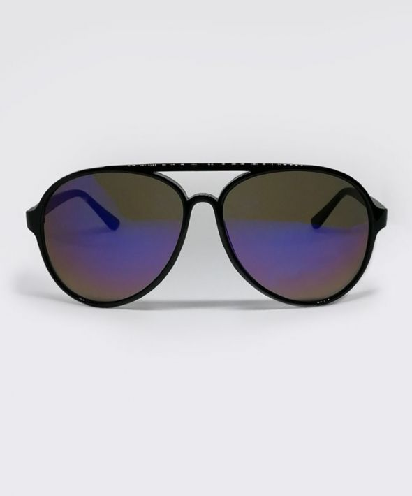 AXL Aviator Sunglasses -Black/Purple