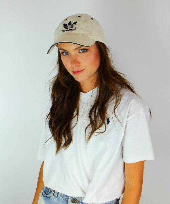 Vintage Adidas Sports Cap with Logo Front & Back 4142608