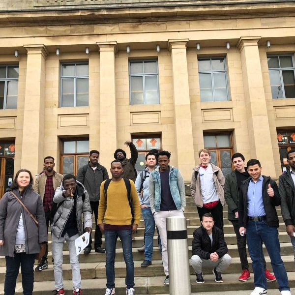 N.E.S.T- a student run programme helping refugees in Britain